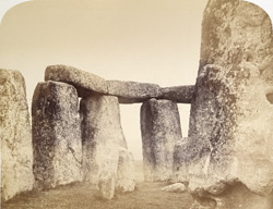 Stonehenge, Central Entrance Through Outer Circle And Upright Of Trilithon